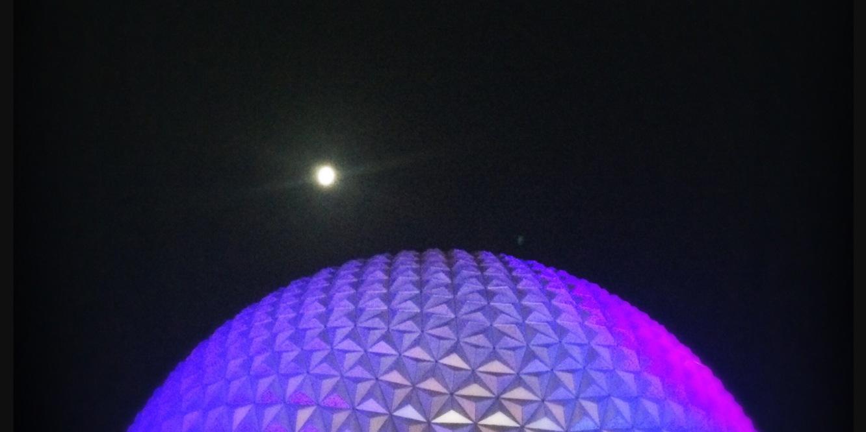 Epcot+Moon