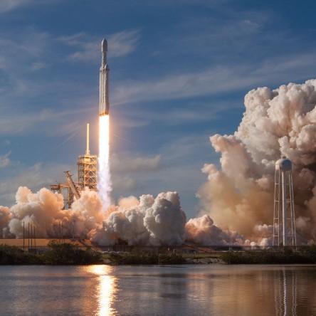 Falcon Heavy Demo Mission Launch
